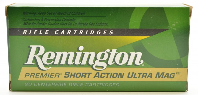 Remington 7 MM, SA, Ultra Mag 160 Nosler Cartridge 20 rounds