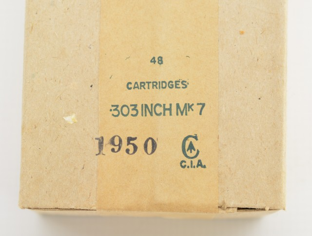 303 Canadian MK 7 Korean War Era Cartridges