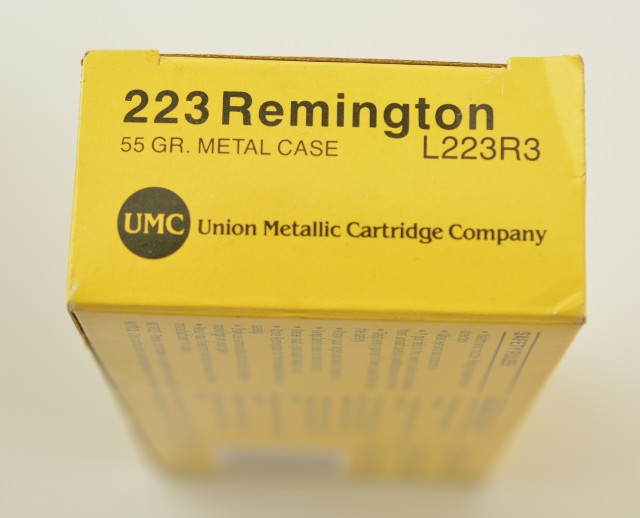 Lot of 4 Boxes UMC 223 55gr Cartridge