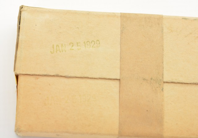 Cil/Dominion 22 Savage Sealed Reference Box 1929