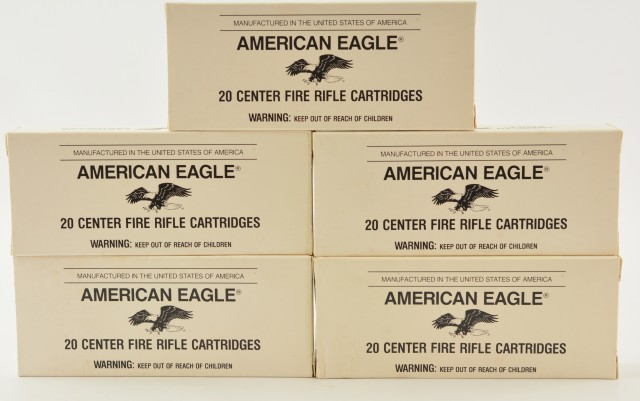 Federal 7.62X39mm Ammo 100 Round Lot