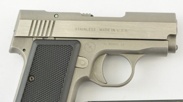 AMT .380 Back Up Model Pistol (Early Production)