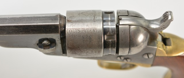 Colt Pocket Navy Conversion Revolver 1st Year