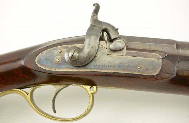 Fine Purdey Percussion Chillingham Rifle Built for The Earl of Tank