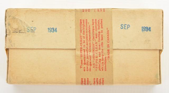 Sealed Reference Box of 303 Savage Cartridges