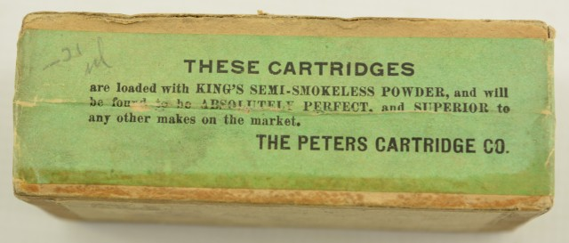 Sealed Box of Peters 44-40 Cartridges