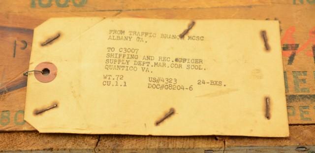 USMC Peters 30-06 Ammo & Case
