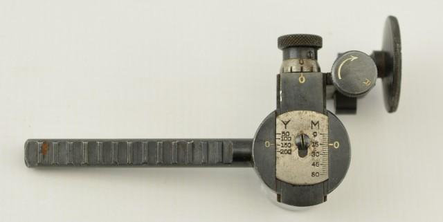 Lyman Model 524 High / Low Aperture Sight