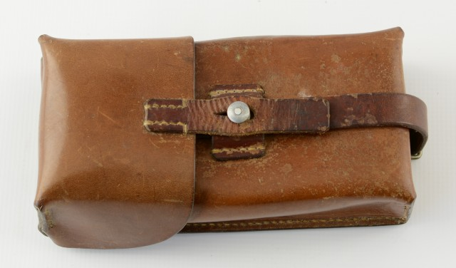 Swiss Leather Cartridge Pouch