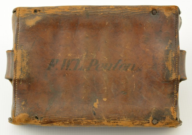 Antique Cartridge Box Belonging to Montreal Police Chief