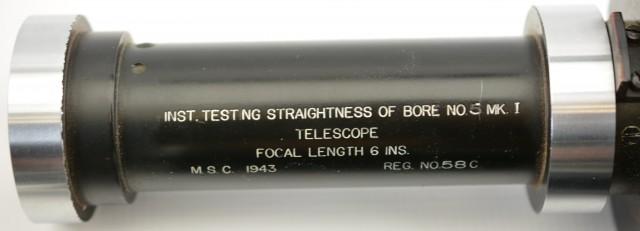 WW2 British No. 5 Mk. I Bore Straightness Gauge