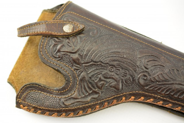Vintage Western Indian Head Holster
