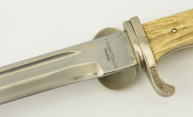 Swedish Knife Dagger Built By Mattsson