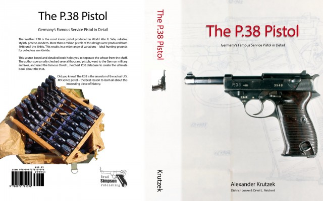 The P.38 Pistol Book by Alexander Krutzek