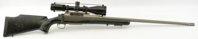 Len Backus LRR Hunting Rifle 300 WSM w/Huskemaw Scope
