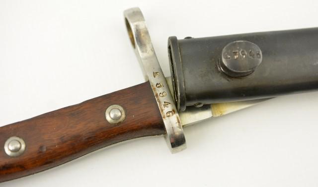 German Export Bayonet