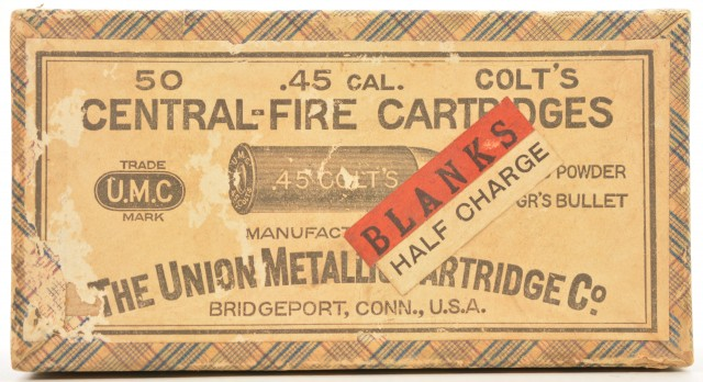 Original UMC 45 Colt Blank Cartridges