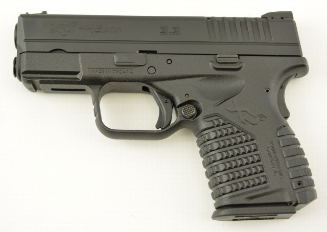 Springfield Armory Inc. XD-S 3.3 Compact Pistol 45ACP