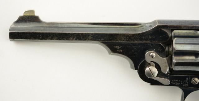 Webley WG Army Model 1896 Revolver Converted to .45 Colt