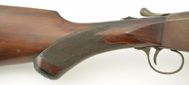 Meriden Firearms Co Single Shot Shotgun Checkered
