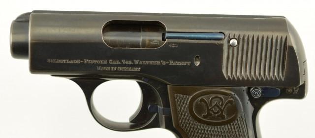 Scarce Walther Model 3 Pocket Pistol .32 ACP