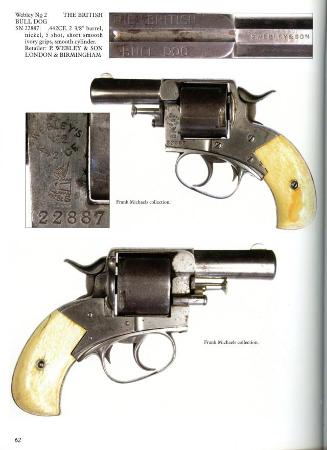 Webley Solid Frame Revolvers: Nos. 1, 1 1/2, 2, Bull Dogs, Pugs Book