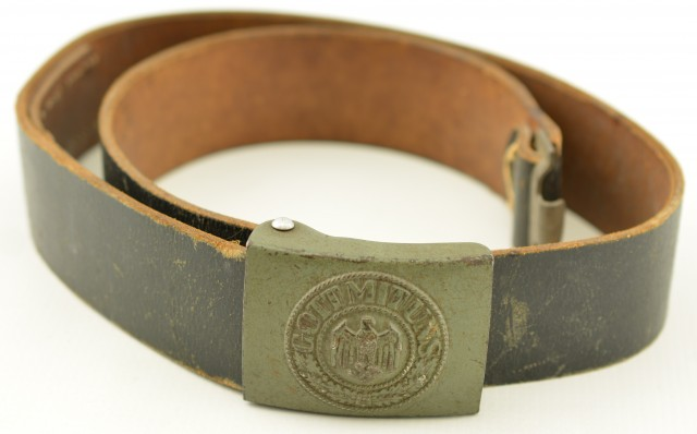 WW2 German Army Belt and Buckle