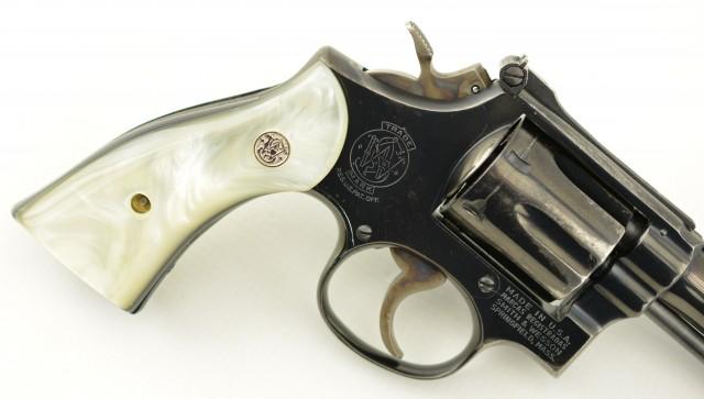 S&W Model 15-3 Revolver with Sacramento Police Dept. Marking