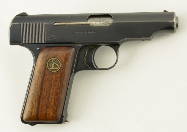 Ortgies 7.65mm Pocket Pistol