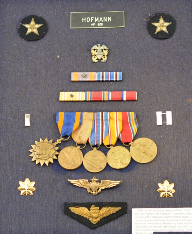 WW2 Jewish Naval Aviator Insignia and Medals Group