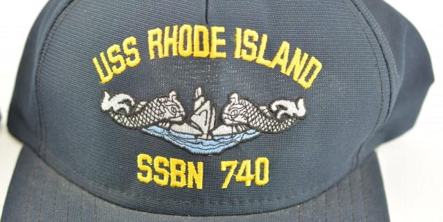 USS Rhode Island SSBN-730 & SSBN-740 Two Original Hats