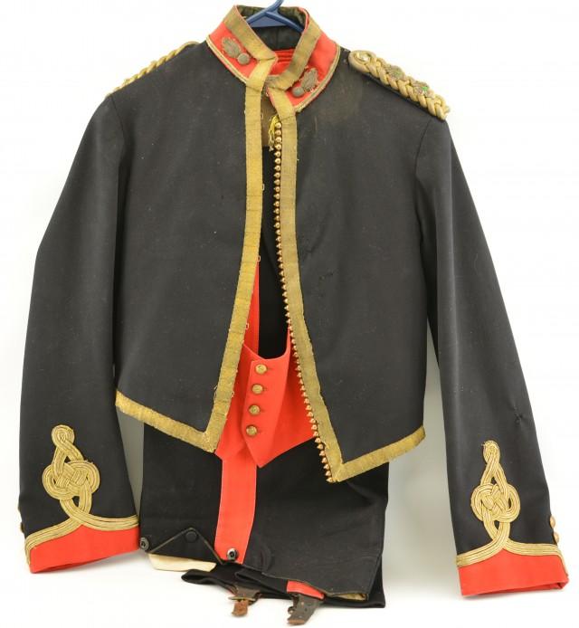 Mess Dress Belonging to Lt. Frank Roff Phillips, Royal Artillery 1900