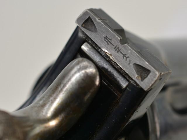 Extremely Rare Broad Arrow Marked Webley WG Target Model 1892 Revolver