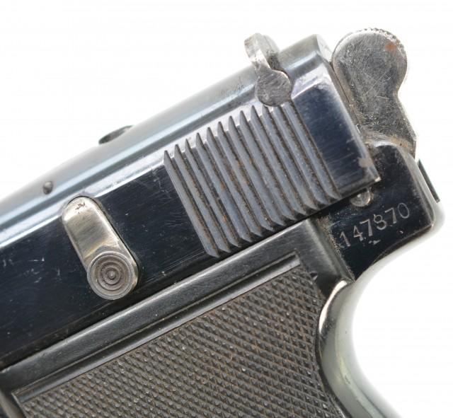 South African Webley Model 1922 Auto Pistol