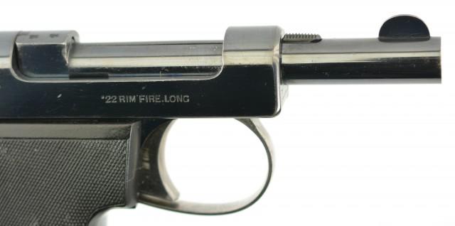 Rare Webley & Scott Metropolitan Police 1911 .22 Pistol w/ Holster