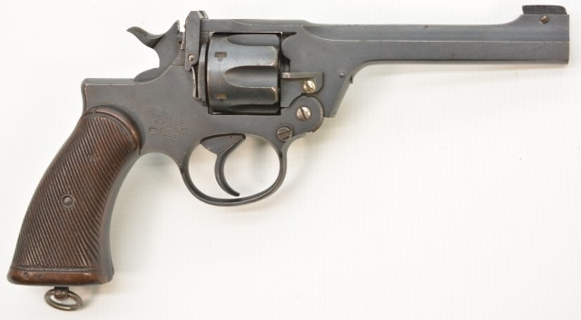 WW2 British No. 2 Mk. I Revolver by Enfield (Royal Engineers Issued)
