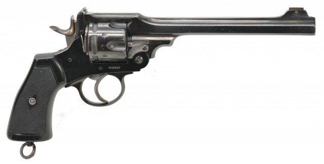 Scarce Webley WS Target Revolver by A.G. Parker & Co. (Canadian Issued