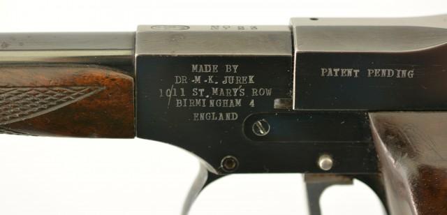 Jurek Single-Shot Target Pistol