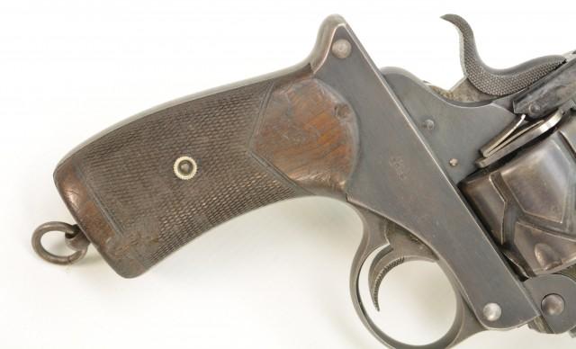 Webley-Fosbery Model 1903 Target of Capt. Sir H.C. Lloyd KCVO, MC