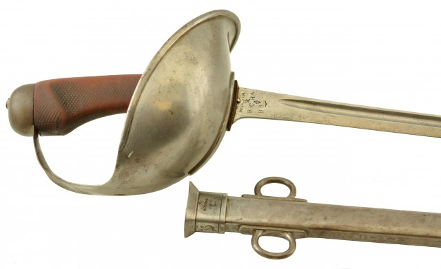 British Pattern 1908 Cavalry Sword with Canadian Markings