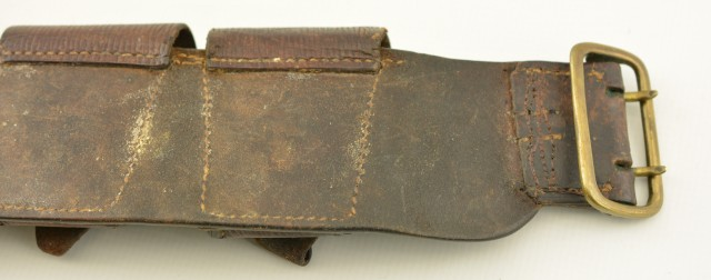 WW1 Canadian Cartridge Belt (Field Artillery Marked)