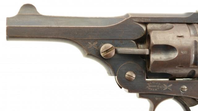 Boer War Webley Mk.II Webley Service Revolver (Cape Colony Marked)