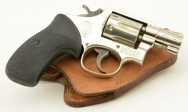 Smith and Wesson Model 10-7 Nickel 38 Spl. 2