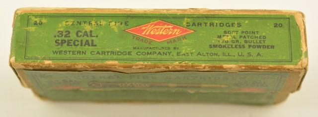 Vintage Western 32 Special 170 Gr Metal Patched
