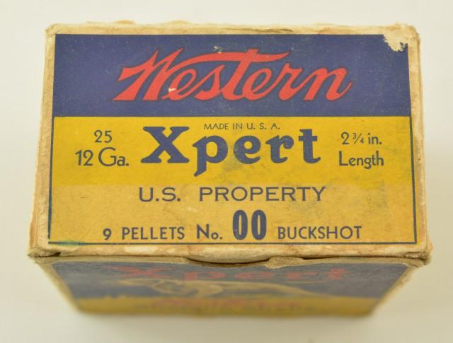 Scarce WWII Western US Property Marked OO Buckshot