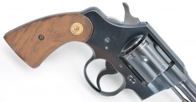 "Colt Pre-War Official Police 38 Spl. 6"" Bbl 1929 Pistol"
