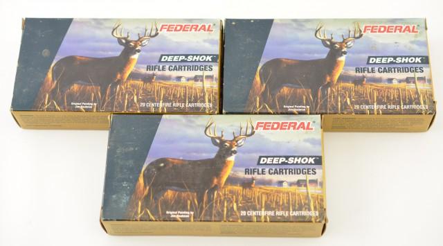 Federal Deep-Shok 300 Win Mag 180 Grain JSP Ammunition