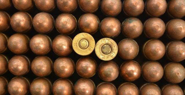Dairt Co. 45 ACP Ammo Oilite Bullet Reising Sub-Machine Gun WWII