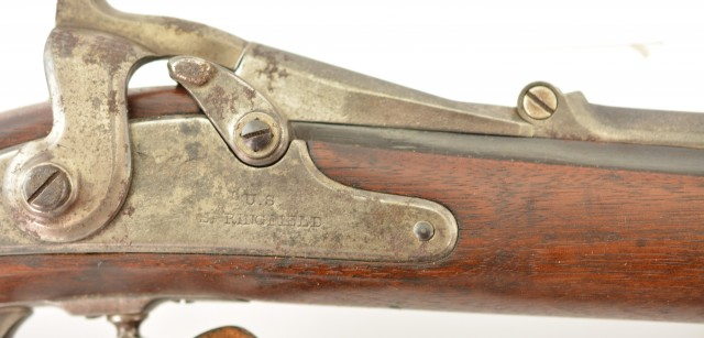US Model 1866 2nd Allin Conversion Rifle by Springfield