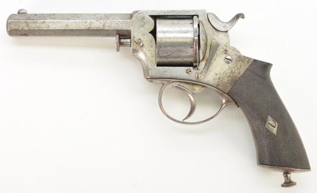 Rare Published Webley Pre-RIC Revolver Serial number 4